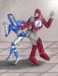 Dancing with the Autobots 2 by Kryschenn