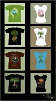 Ecological T-shirt collection by Aerhalev