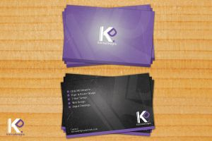 Karma Designs Business Card 2 by SheriRi09