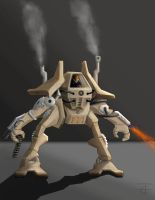 Combat Mech by TrevorCarlsonGay