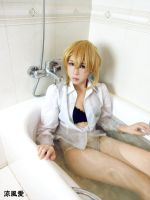 saber cosplay by jiaanxu