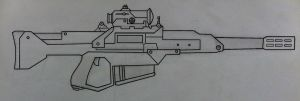 L-18 C.Q.B. sniper rifle by Ruthie420