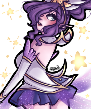 Star Guardian Janna by Nyami-desu