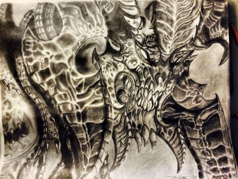 Lord of Terror (17inch x 14inch) by Shakespeared