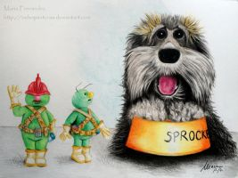 Sprocket and the Doozers by ochopanteras