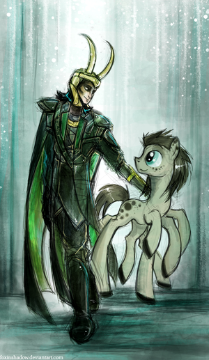 Loki and his pony