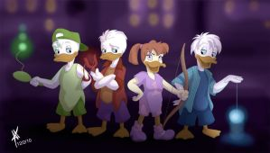 Teen Ducks by DisneyFan-01