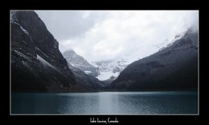 Lake Louise by Dinedhel