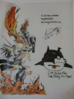 Rage of The Batty Ink Man by leungd