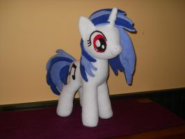 MLP Vinyl Scratch DJ Pon3 plush custom by MLPT-fan