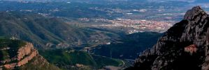 View from Montserrat (cropped) by n2950895