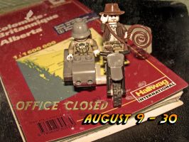 Office closed August by Alohavera