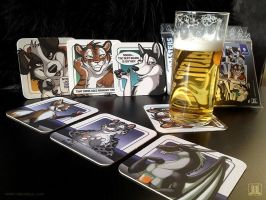 Beer Coasters - cheers by TaniDaReal
