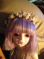 Orange hearted crown by child-of-aros