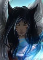 [Commission: Chi@IMVU.com] Ahri LoL by virecca