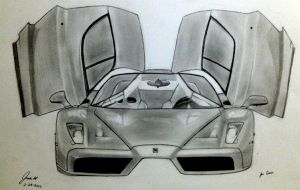 Ferrari Enzo by HoustonTxArtist