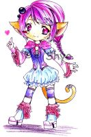 ::Chibi Kitty:: by bunnify