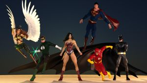 JLA Comes to town! by flyashy
