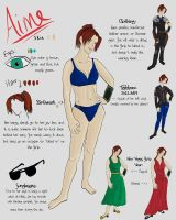 Aime's Reference Sheet by FlyingPhoenixFire