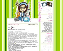 .New Blog Design by Maquita