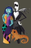 CROSSOVER Ferb as Jack and Siana as Sally by SianaLaurie