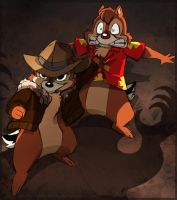 Ch-ch-ch-Chip an' Dale by Gaaramunky
