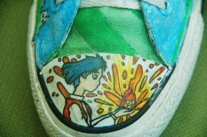 Studio Ghibli Shoes 2 by missprettylady