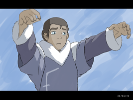 Young Tarrlok bloodbending by Zugoldragon