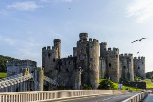 Conwy Castle - Northeast by LordMajestros