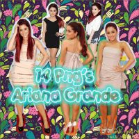 pack 14 fotos png Ariana grande by eveSwagglml