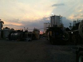 Industrial Sunset. by CALIB454