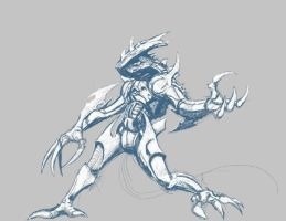 Concept creature by tvfunnyman