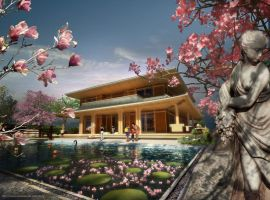 The Japanese Villa by dimensional-dude