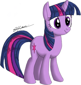 Twilight Sparkle by Music-S-Brush