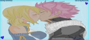 NaLu ~ I've waited for so long ~ Colored by Xaviarluvya