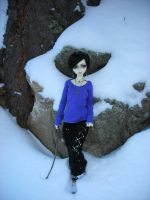 Lenore in the Snow III by StonerKitty