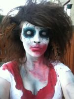 Zombie Makeup by Onii-Jurai