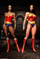 Wonder Woman - Old and New by Sandmarine
