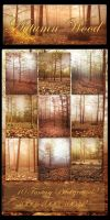 Autumn Wood backgrounds by moonchild-ljilja