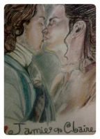Jamie and Claire by fbforbill