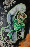 Green Lantern by joraz007
