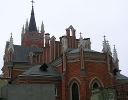 Catholic church rear by saltov-man