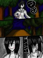 Lost in the forest slenderman's kingdom part 3 by floriyon