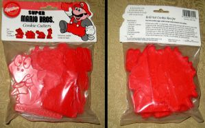 Mario Cookie Cutters Sealed Package by avaneshop