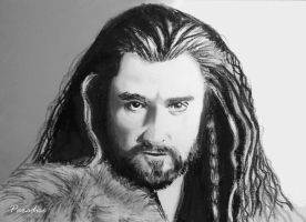 Thorin Oakenshield (edited) by Tottaparadise