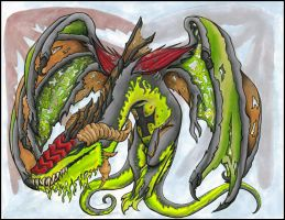 Pestilence Dragon by Unibomber703