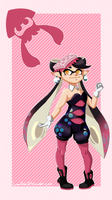Squid Sisters: Callie by LunarHalo24