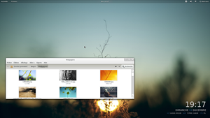 Fedora 16 - Desktop 3 by Fedo64