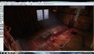 Silent Hill Environment Nearly Finished by celark