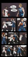 2011 Nba Finals Comic Dirk Vs Heat by rickyscomics